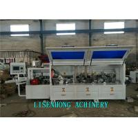Horizontal Fully Automatic Edge Banding Machine For Cabinet Door Steel Body  Structure