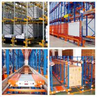 Bulk Storage Radio Shuttle Racking System Width 1000-3000MM For Food Industry