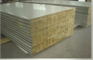 Yellow 100mm Rockwool Insulation Board Fire Resistant For