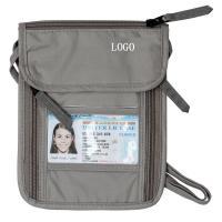 China Ripstop Nylon Grey RFID Travel Bags Waterproof Travel Waist Money Belt on sale