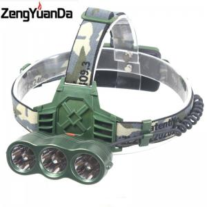 China T6 caplights glare 15w charge blu ray headlights led headlamp on sale