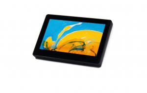 China 7 Indoor Touch Tablet With POE,RGB LED Light And Wall Mounting Kit on sale