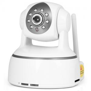China H.264 Pan/tilt IP Camera Wireless with Two-way Audio and Motion Detection Alarm on sale