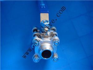 China Ball valve(Steel ball valve/3PC ball valve) on sale