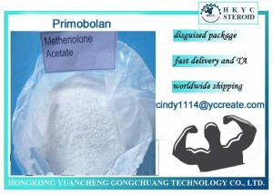 China Anabolic Steroid Hormone Raw Powder Methenolone Acetate For Lean Muscle on sale