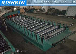 China Corrugated Roof Panel Roll Forming Machine with 1.0mm Zinc Thickness on sale