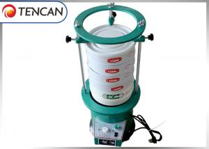 China Stainless Steel Powder Sieving Machine , Electric Lab Nano Powder Sieve Shaker on sale