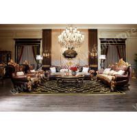 Genunie Leather sofa luxury living room furnitue sofa sets coffee table hot sale 2014