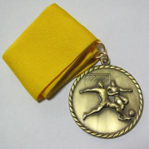 China Gold / Antique gold 2.5mm thickness Custom Made Emblems, OEM / ODM Offer on sale