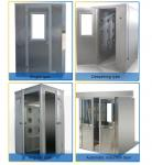 H13 Filter Biomedical Cleanroom Air Shower With LCD Display Working