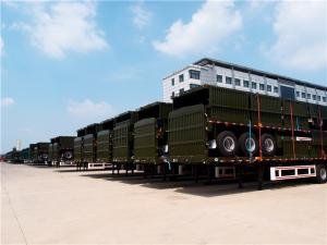 China carry 40/20ft new semi trailer price cargo trailer for sale - CIMC on sale