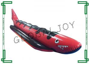 China Shark?Banana Boat Inflatable Water Games with Six Seats , Customized on sale