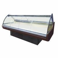 Supermarket Deli Display Fridge Showcase With Front Sliding Glass Door