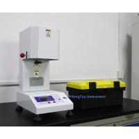 Laboratory Digital Plastic Melt Flow Indexer , Auto Melt Flow Index Testing Machine