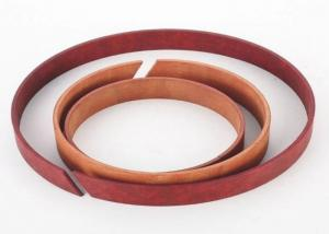 China Wooden Color Hydraulic Pump Cylinder Phenolic Fabric Wear Ring Support Ring on sale