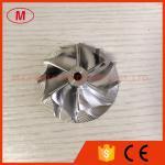 CT20B 17291-17040 45.90/64.89mm 6+6 blades Turbo Billet/aluminum 2618/milling compressor wheel for Toyota Landcrusier