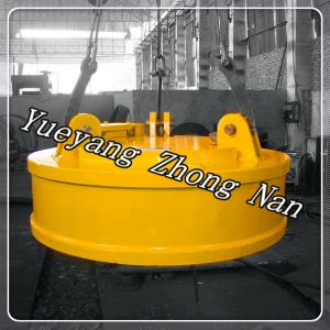 China Magnetic Lifting Machine for High Temperature Steel Billets MW03-140L/2 on sale