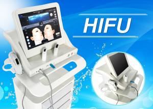 China CE Wrinkle Removal Hifu Beauty Machine , Medical Anti Wrinkle Hifu Equipment on sale