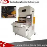 máquina que corta con tintas hidráulica del material de hoja para la película de la esponja/foam/PET