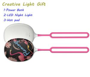 China Creative power bank hot pad emergency chargeable night led outdoor light CL101 on sale