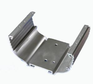 China Customized Industrial Aluminium Profile With Cutting / Punching / Drilling on sale
