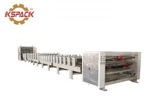 China Automatic 5 Ply Corrugated Board Production Line White Color Machine on sale