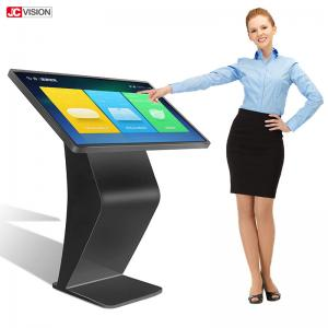 China 1920x1080 IR Horizontal Touch Screen Interactive Information Kiosk on sale