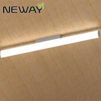 China Contemporary LED Ceiling Light Fixtures Dia.50MM Surface Mounted LED Tube Lights 100CM 120CM 150CM WW 3000K NW 4000K on sale