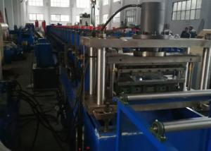 China GCR15 Roller Material Rack Rolling Machine , Shelf Cold Forming Machine With Cr12Mov on sale