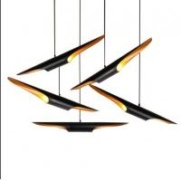 China Black Italian Design Metal Pendant Lights For Living Room Dining Room on sale