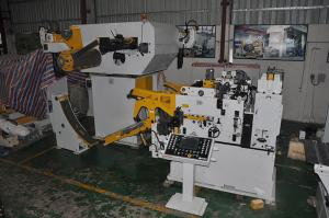 China Air Feeder Sheet Metal Decoiler Stamping , Automatic Roll Feeder Machine on sale