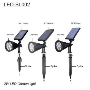 China 3W IP65 exterior LED solar lawn light & led garden light/led lights for park on sale