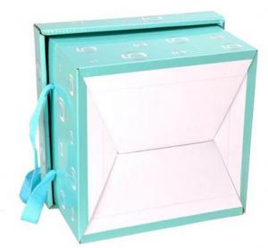 China blue sky luxury packaging gift box shanghai manufacture 2015 new design on sale