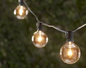China solar led light string on sale