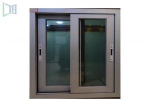 China Heat-Proof Outdoor Sliding Powder Coated Aluminium Windows Australian AS2047 Standard on sale