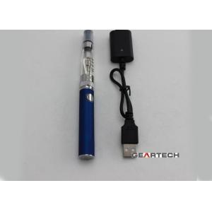 China 1.6ml 2.8ohm CE4+ Evod E Cigarette Kits For Women , Blue / Pink Length 64mm on sale