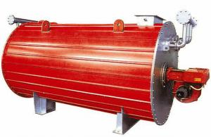 China Industrial Gas Fired Horizontal Thermal Oil Heating Boiler Efficiency 300kw on sale