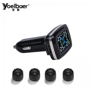 China Internal External Vehicle Tpms Sensor Cigarette Lighter With LCD Display on sale