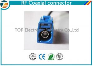 China Low Loss FAKRA Female Male RF Coaxial Connector RG174 Double Locked on sale