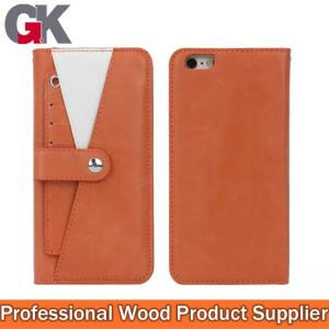 China luxury leather iphone 6 cases, iphone purse case, iphone 6 cases with card holder on sale