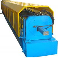Color Steel Sheet Circular Downspout Roll Forming Machine PLC Control