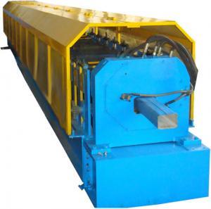 China Coloree el rollo circular de la bajada de aguas de la hoja de acero que forma control del PLC de la máquina on sale