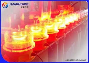 Quality Heat Resistant Medium Intensity Obstruction Light / Tower Warning Lights FAA for sale