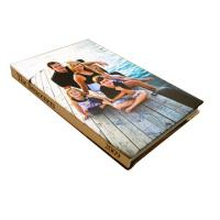 China Beautiful Family Memories / Golden Wedding Photo Album 8 x 10 With 0.5mm-1.5mm Inner Pages on sale