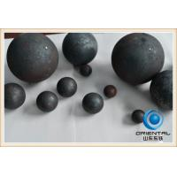 China Ball Mill Grinding Media Balls For Iron Copper Ore Industry , Grinding Steel Balls on sale