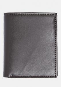 China Nappa PU Leather Wallet , Business Card Wallet With Name Card Holder Flap on sale