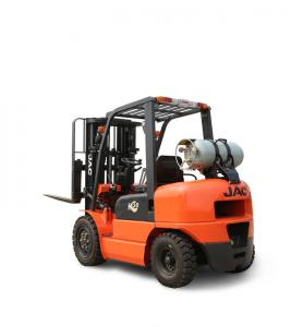 China Electric Lpg Telescopic Forklift Truck / Forklift Loading Truck For Industrial on sale