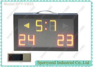 China Indoor Portable  College Electronic Badminton Scoreboard - Aluminum Housing on sale