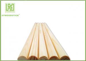 China Long Wooden Dowel Sticks Iin Bulk , Food Grade Wooden Barbecue Sticks on sale