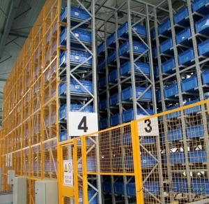 China Customized High Efficiency Automated Storage Retrieval System Custom Beam on sale